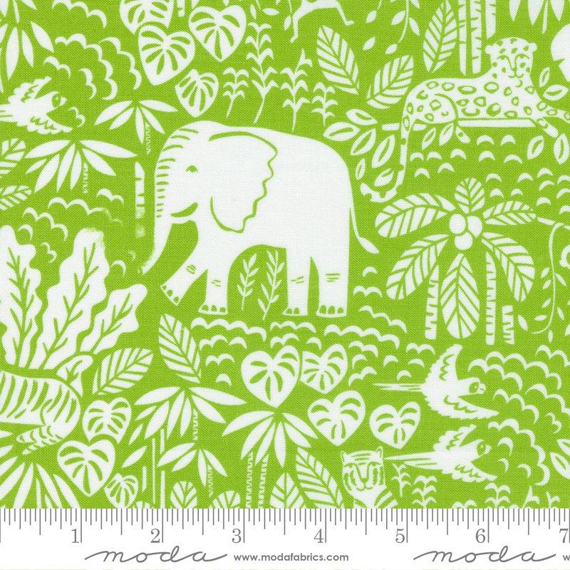 20785 19 - Moda Jungle Paradise Jungle Scene - Seedling