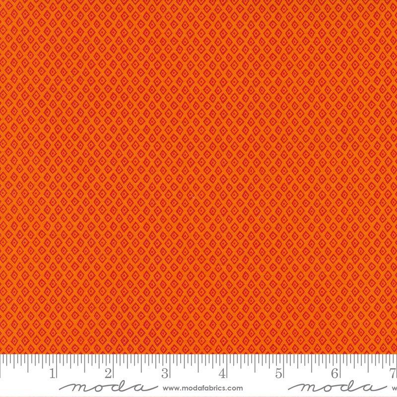20788 15 - Moda Jungle Paradise Diamond Dot - Orange