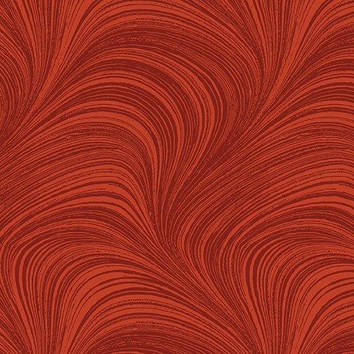 2966-79 - Benartex Wave Texture - Paprika