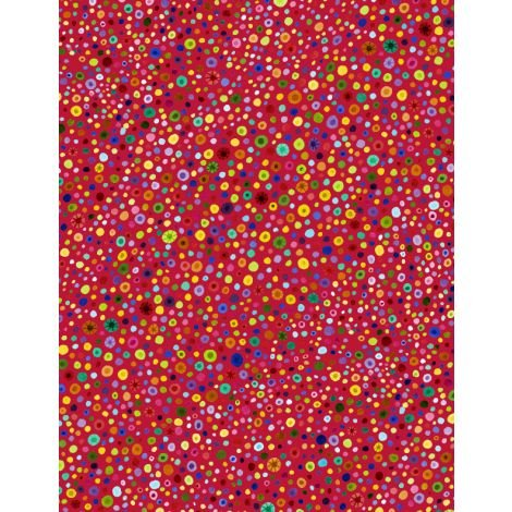 77664-353 - Wilmington Glass Beads - Red/Multi