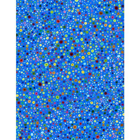 77664-453 - Wilmington Glass Beads - Bright Blue/Multi