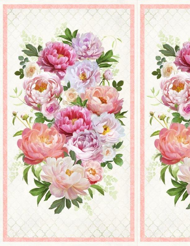 96453-173 Wilmington Prints Flower Study Panel