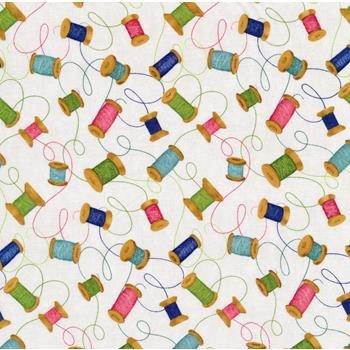 27616-172 - Wilmington Sew Little Time Spools - Cream