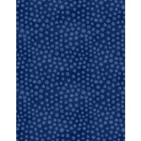 27622-449 - Wilmington Sew Little Time Tiny Floral - Blue