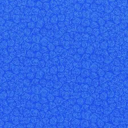 3216-001 - RJR Hopscotch Blenders Rose Petals - Cornflower Blue