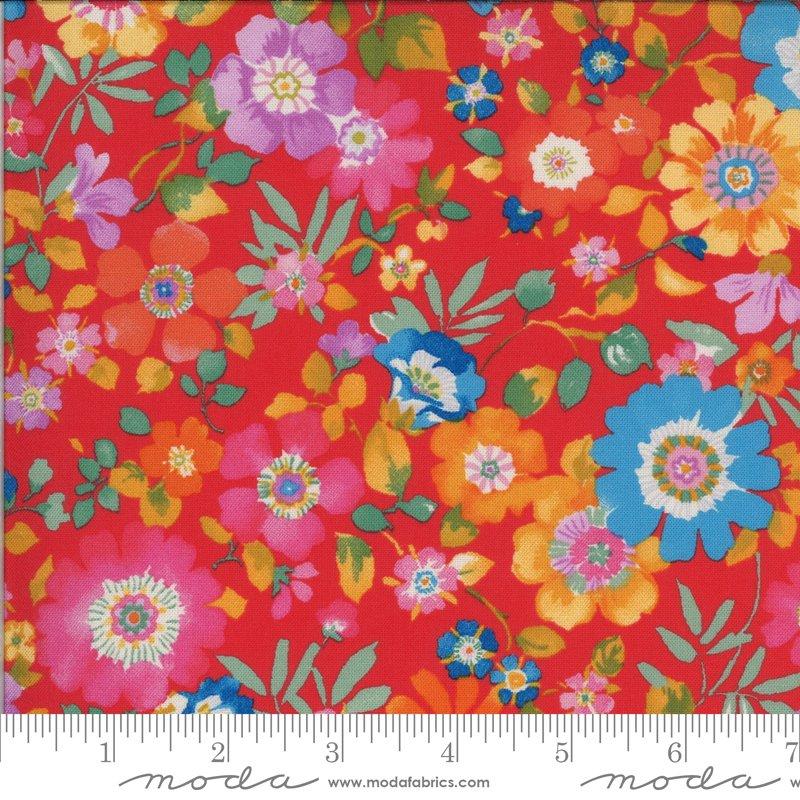 33581 14 - Moda Lulu Flower Garden - Geranium
