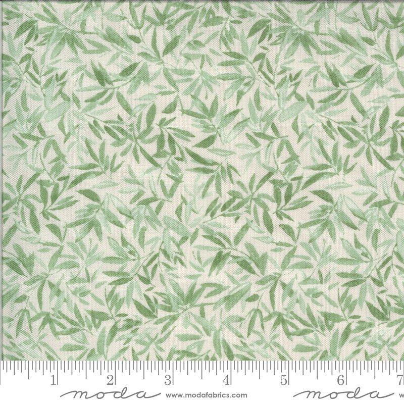 33582 25 - Moda Lulu Leaves - Linen