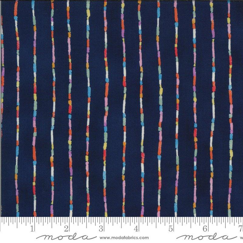 33586 11 - Moda Lulu Stripe - Navy
