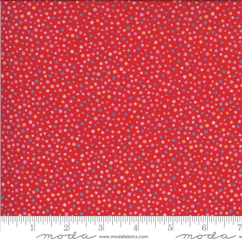 33587 14 - Moda Lulu Confetti - Geranium