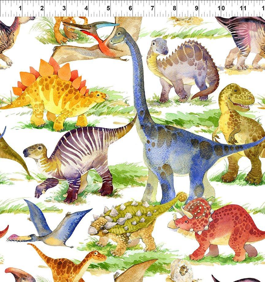 IBFDIF3DIN-1 - In the Beginning Dinosaur Friends - Multi