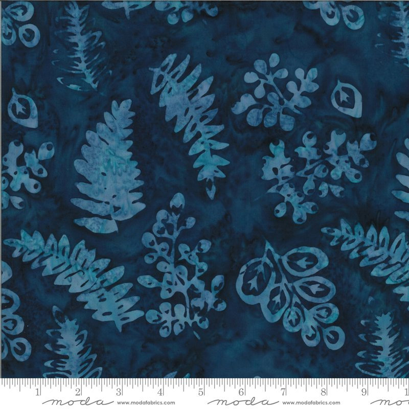 4357 28 Moda Malibu Batiks - Nightfall