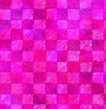 4433-P - P&B Living Farm Checks - Pink