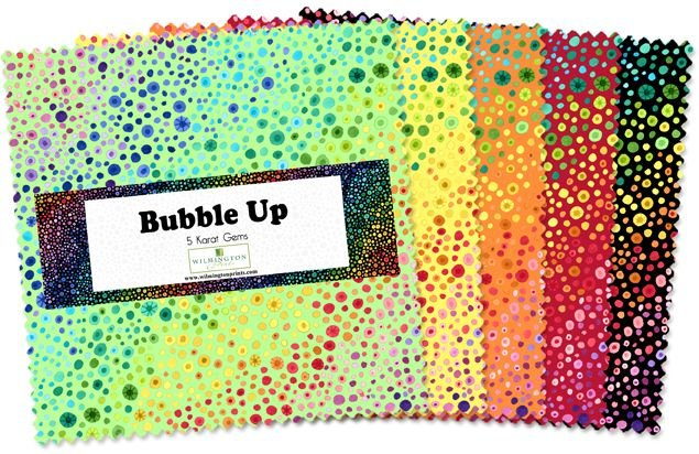 507-51-507 - Wilmington Bubble Up 5 Karat Gems - 5 Squares