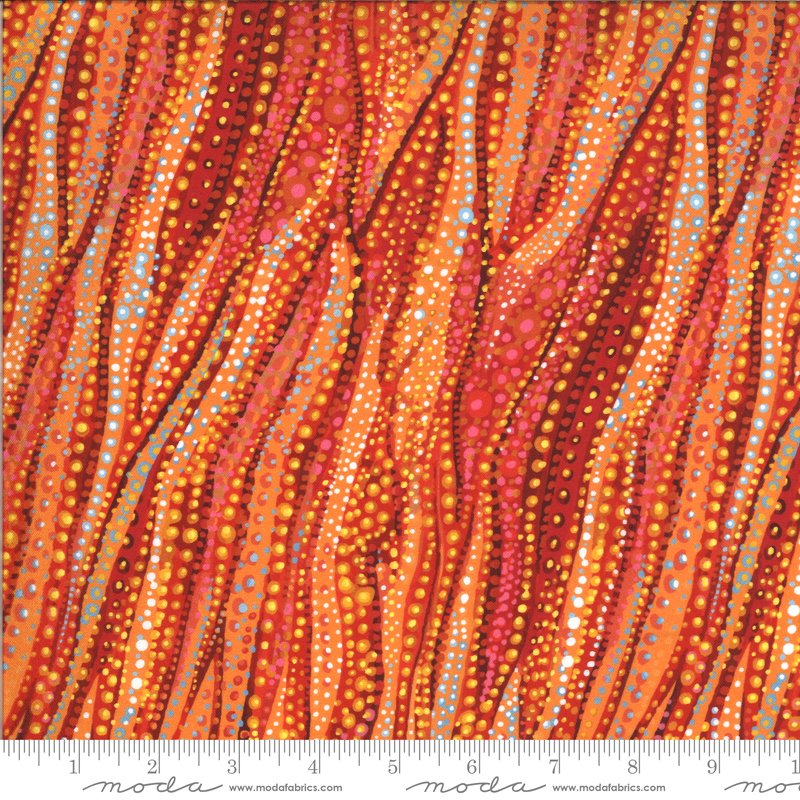 51244 15D Moda Dreamscapes - Red/Orange