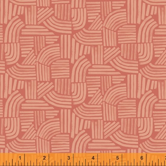 52254-7 - Windham Wildflower Linear - Coral