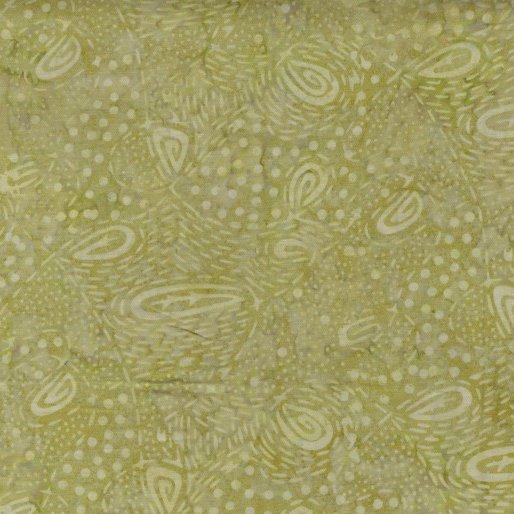 6980-04 - Benartex Batik Tear Drop - Sage