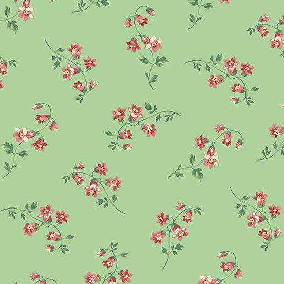 A9769-G - Andover The Seamstress Silk - Mint