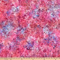 5643-346 - Wilmington Batiks - Coconut Sticks - Pink/Blue