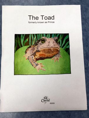 The Toad formerly known as Prince