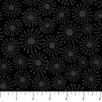 22138-99 Northcott Simply Neutral - Black