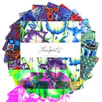 Kaffe Fassett Collective 10 Charms - Cold
