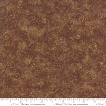 9908-81 Moda Marble Swirls - Chocolate