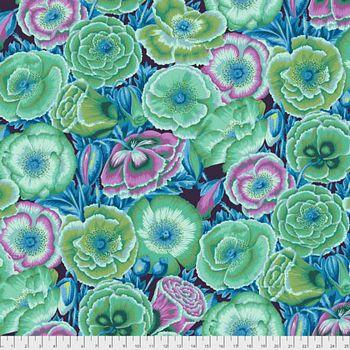 PWPJ095.GREEN - Poppy Garden