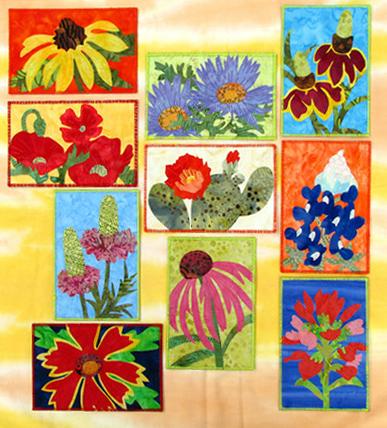Texas Wildflowers Postcards