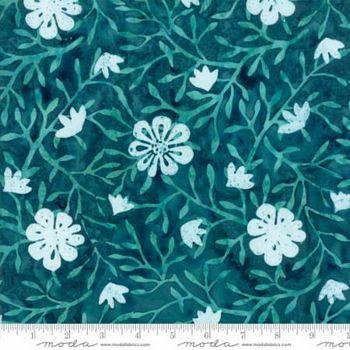27259 60 - Moda Longitude Batik - Teal