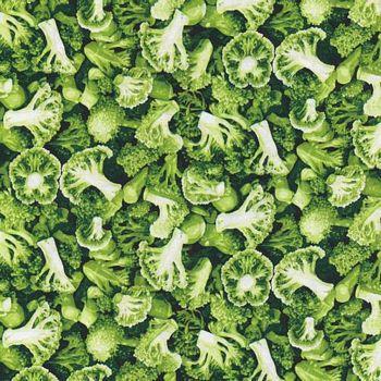 120-16301 Fabri-Quilt Market Medley - Broccoli
