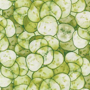 120-16501 Fabri-Quilt Market Medley - Cucumbers