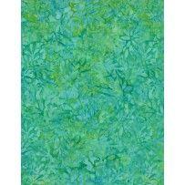22179-774 - Wilmington Batiks - Packed Petals - Aqua