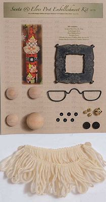 Santa Post Accessory Kit
