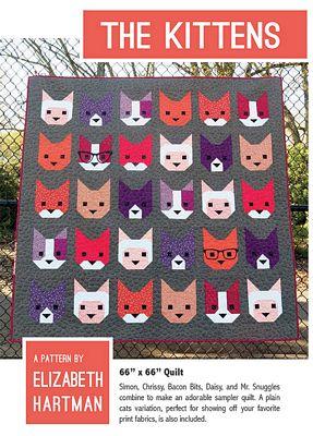 EH 019 - The Kittens Pattern by Elizabeth Hartman