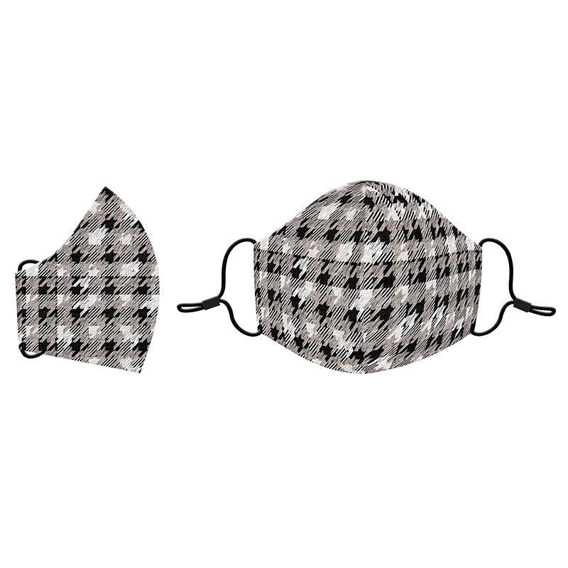 81286 - Moda Cotton Face Mask - Houndstooth