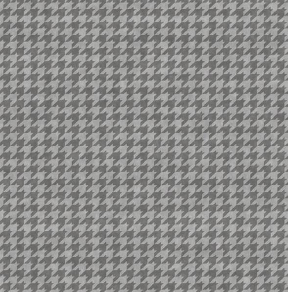8624-94 Henry Glass Houndstooth Basics - Steel