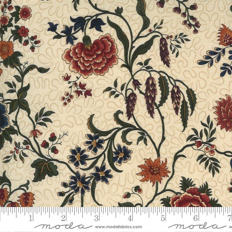 9650 11 - Moda Prairie Dreams Prairie Flowers - Tan