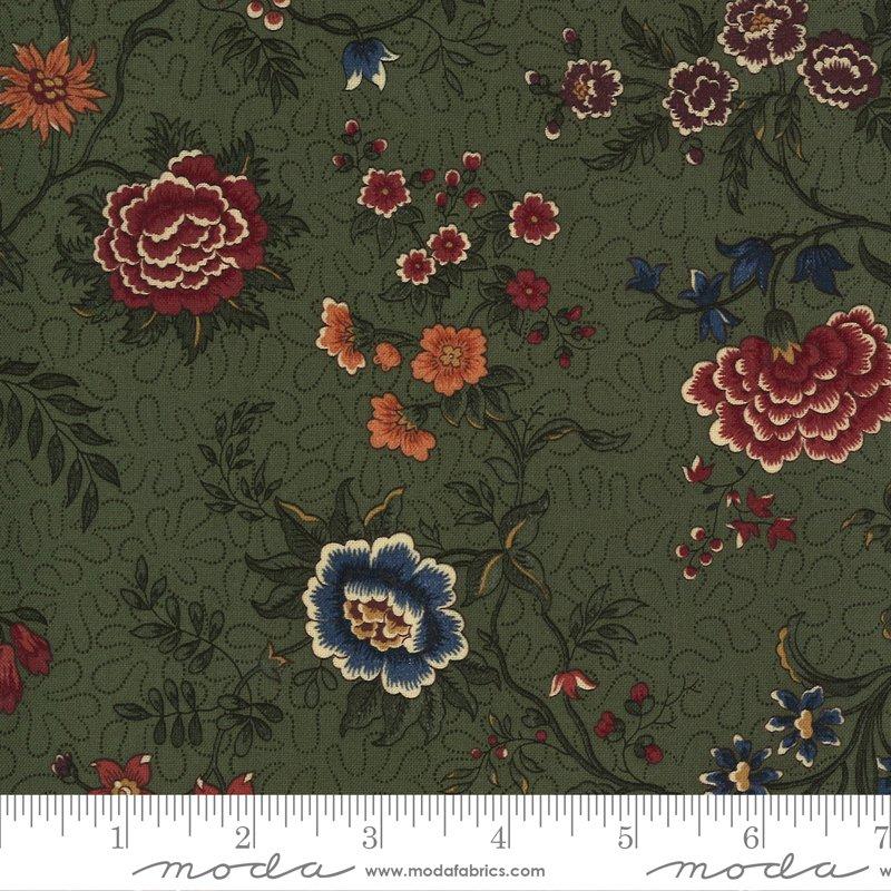 9650 15 - Moda Prairie Dreams Prairie Flowers - Green