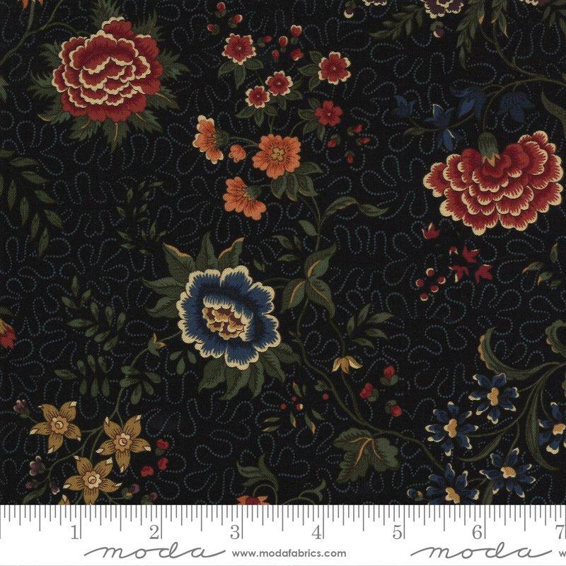 9650 19 - Moda Prairie Dreams Prairie Floral - Black