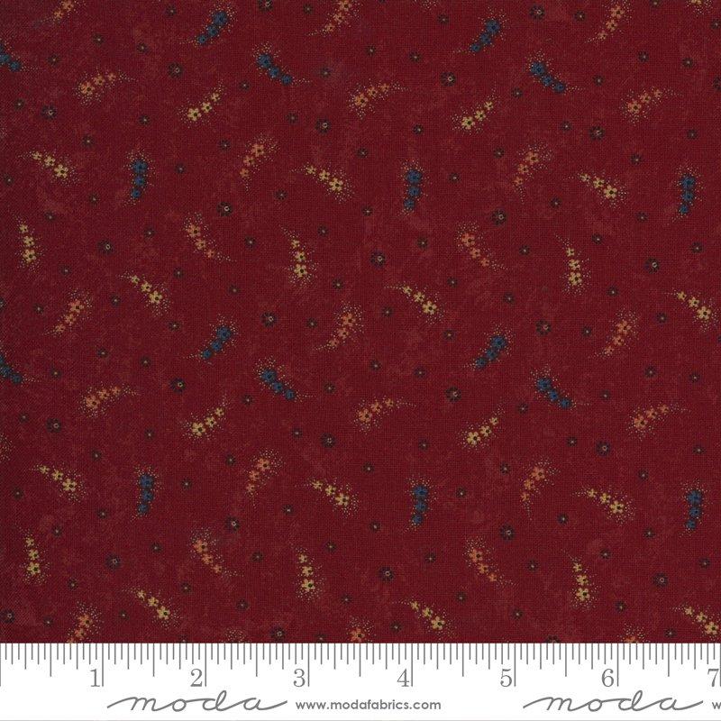 9651 13 - Moda Prairie Dreams Daisy Chain - Red