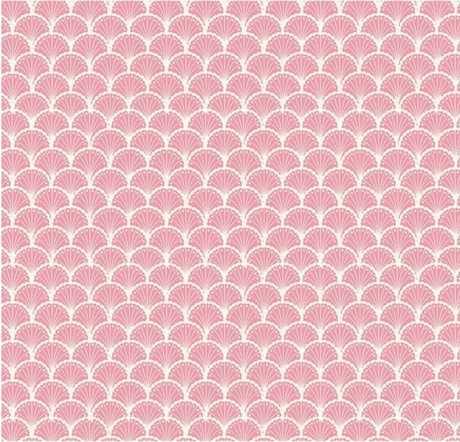 C10502-PEONY - Riley Blake Stardust Scallops - Pink