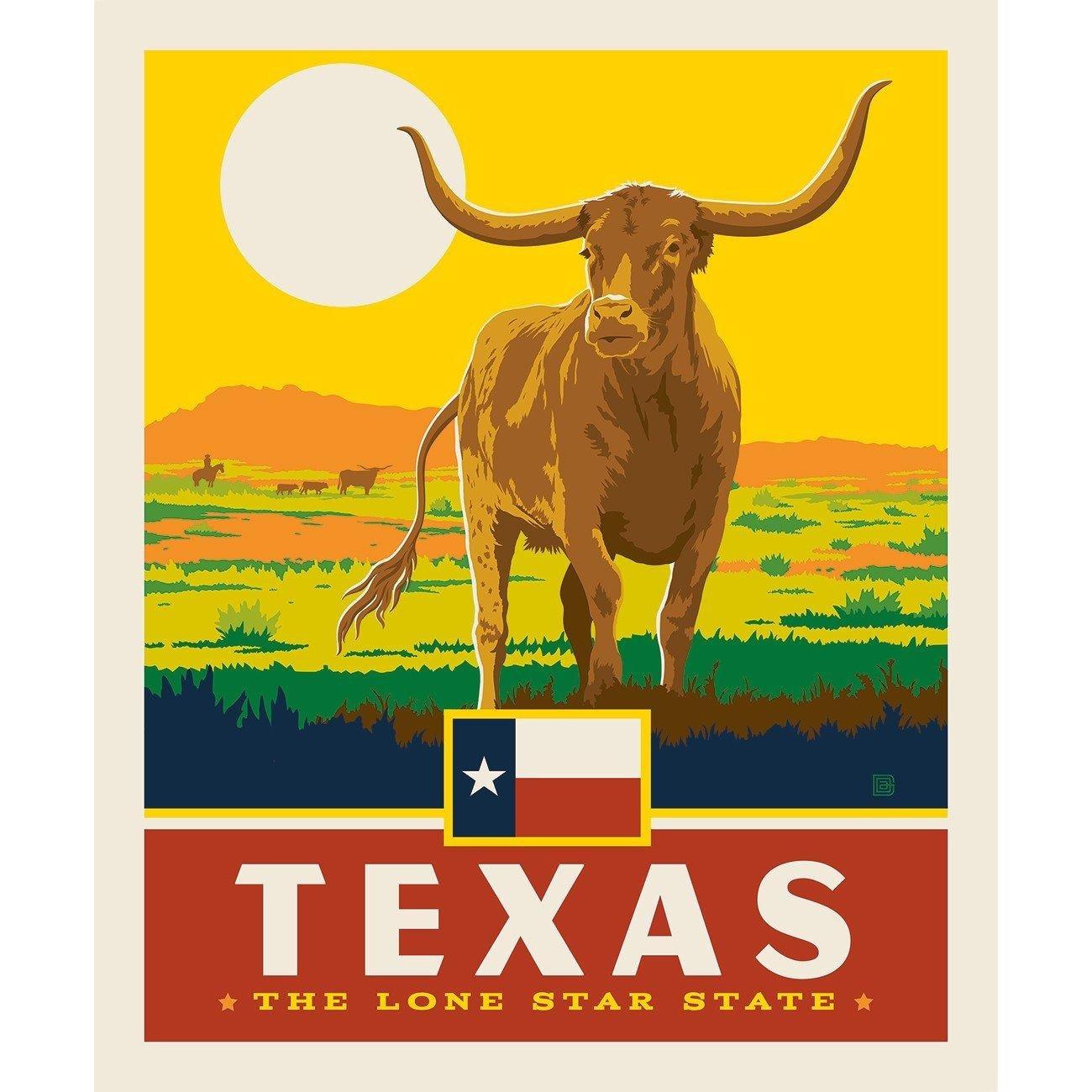 Destinations Texas Panel by Riley Blake