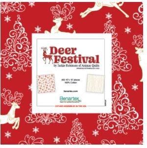 Benartex Deer Festival - 10 squares