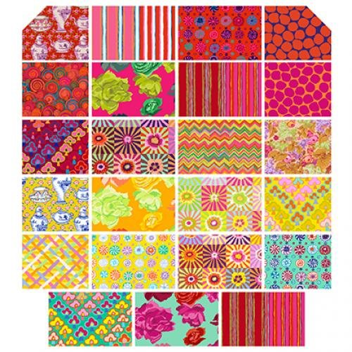 FB610GP.SUNRI Kaffe Fassett Fall 2017 (42) 10 Squares