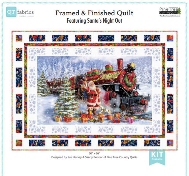 Quilting Treasures Framed & Finished Quilt Kit
