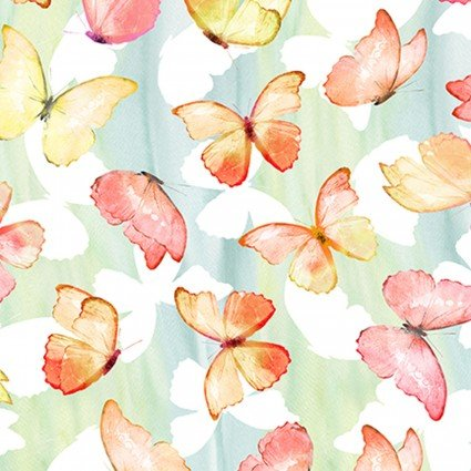 IBFPAT4PAT-1 - In the Beginning Patricia Butterflies - Soft Multi