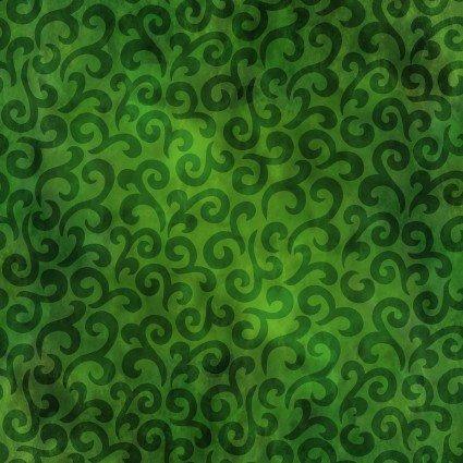 IBFRAJ11RJ-1 - In the Beginning Rainbow of Jewels Swirl - Evergreen