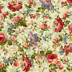 9870M-G Maywood Belle Epoque Green Bold Floral