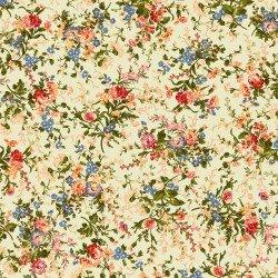 9871M-G Maywood Belle Epoque Green Medium Floral