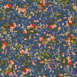 9871M-N Maywood Belle Epoque Navy Medium Floral